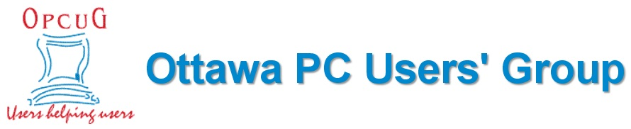 Ottawa PC Users' Group (OPCUG)